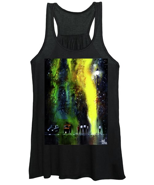 Rainy Evening Women's Tank Top
