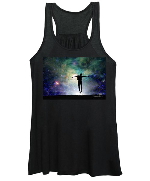 Reach For The Stars Women's Tank Top