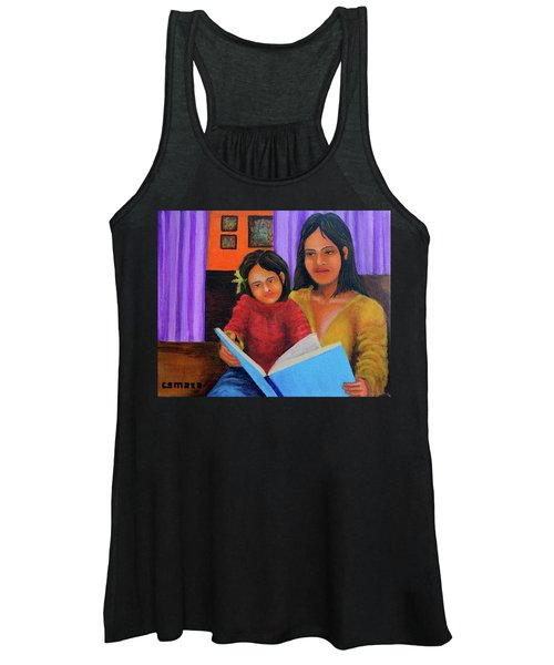 Reading With Mom Women's Tank Top