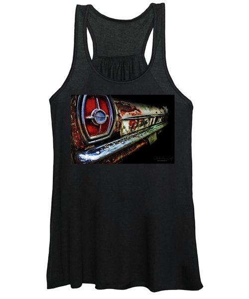 Red Eye'd Wink Women's Tank Top