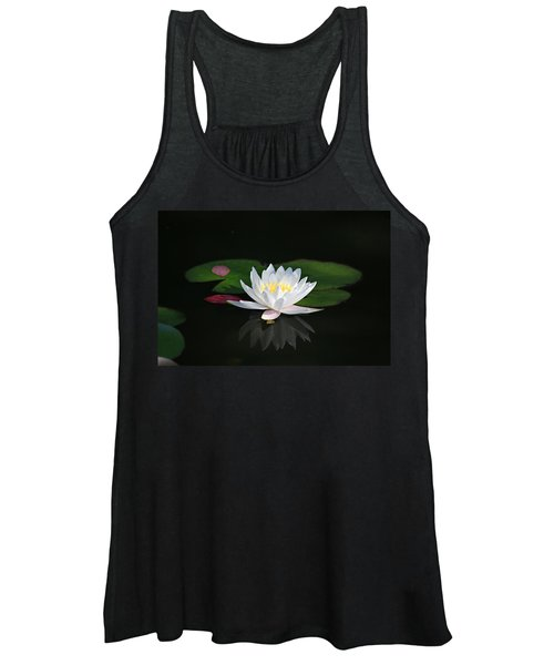 Reflections Of A Water Lily Women's Tank Top