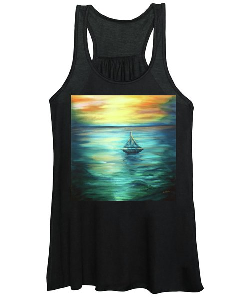 Reflections Of Peace Women's Tank Top