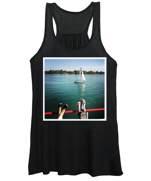 Relaxing Summer Boat Trip Women's Tank Top