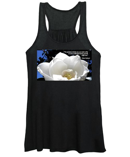 Relief 2, With Quote.  Women's Tank Top