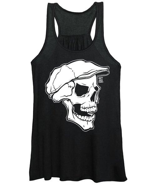 Retro Skull Women's Tank Top