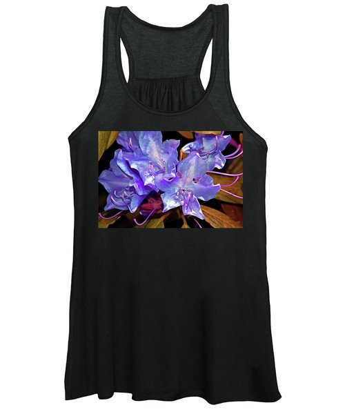 Rhododendron Glory 6 Women's Tank Top