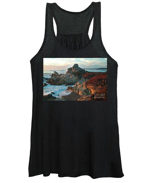 Ribera Beach Sunset Carmel California Women's Tank Top