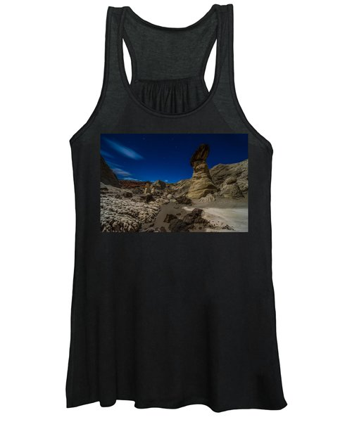 Rim Rock Toadstools Grand Staircase National Monument  Women's Tank Top