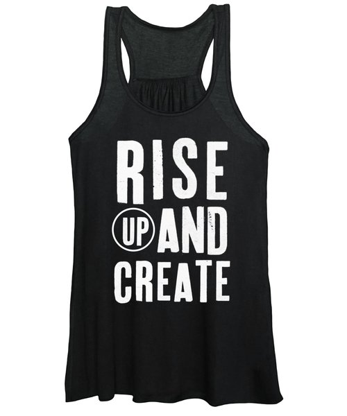 Rise Up And Create- Art By Linda Woods Women's Tank Top