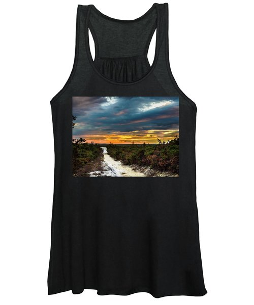 Road Into The Pinelands Women's Tank Top