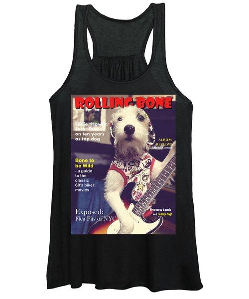 Rolling Bone Magazine Women's Tank Top