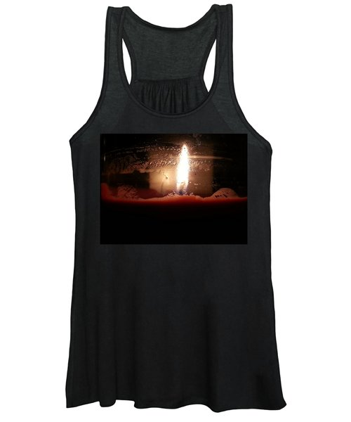 Romantic Candle Women's Tank Top