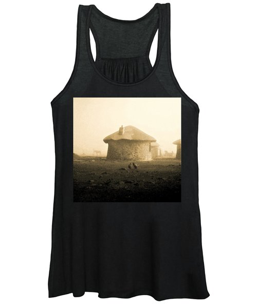 Rondavel In Lesotho Women's Tank Top