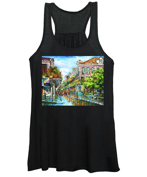 Royal At Pere Antoine Alley, New Orleans French Quarter Women's Tank Top