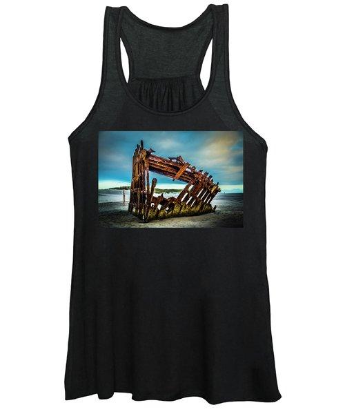 Rusty Forgotten Shipwreck Women's Tank Top
