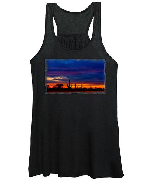 Saguaro Sunset V16 Women's Tank Top