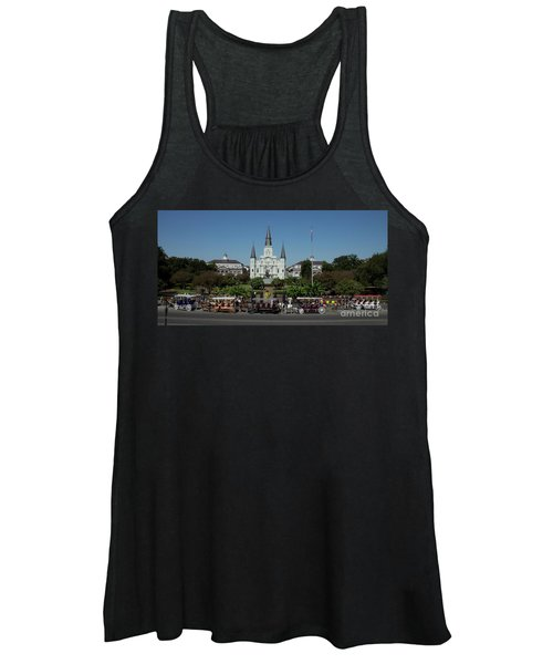 Saint Lewis Cathedral French Quarter New Orleans, La Women's Tank Top