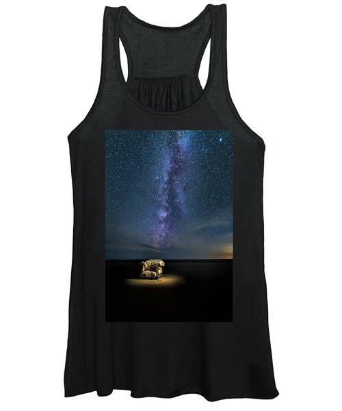Salt Flats Milky Way Chair Women's Tank Top