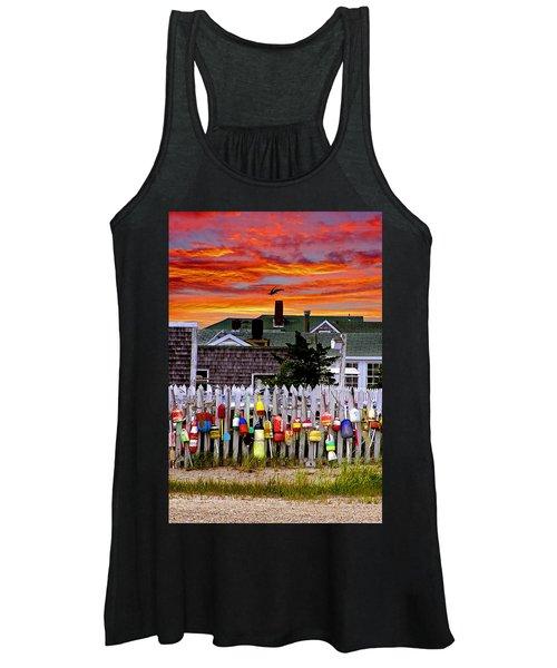 Sandy Neck Sunset Women's Tank Top