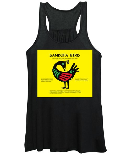 Sankofa Bird Of Knowledge Women's Tank Top
