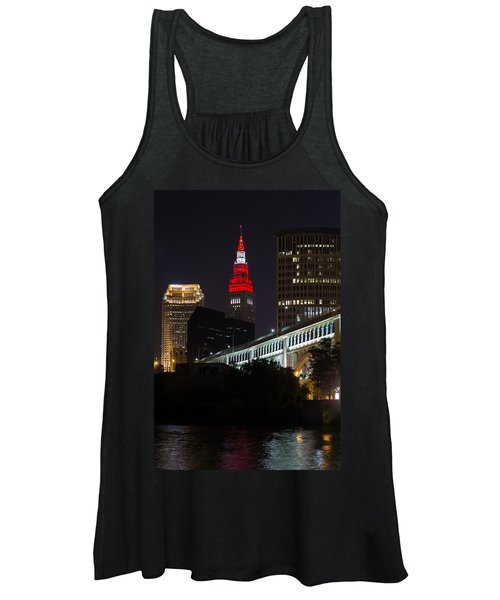 Scarlet And Gray Women's Tank Top