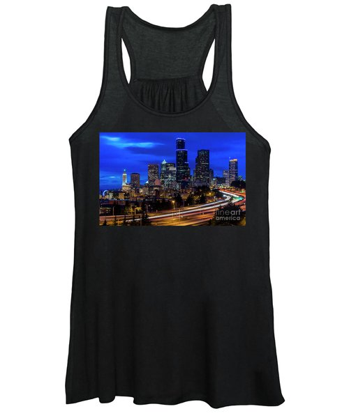 Seattle Skyline Women's Tank Top