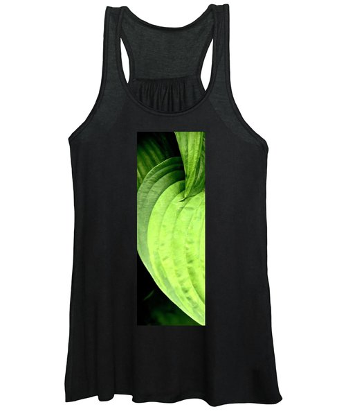 Shades Of Green Women's Tank Top