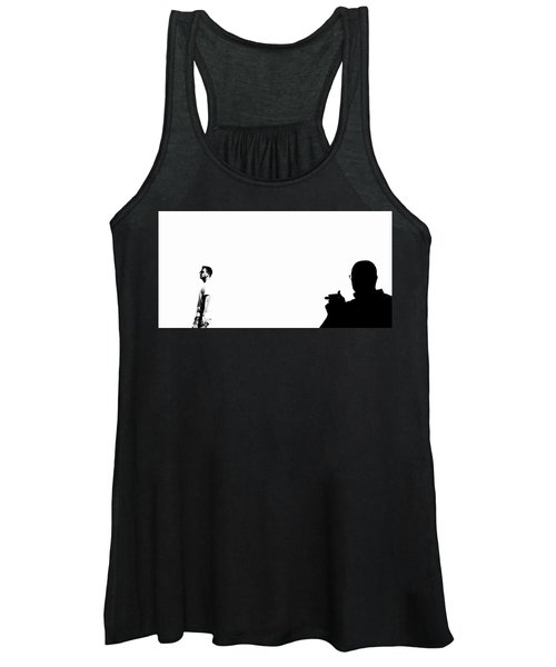 Shadow Man Women's Tank Top