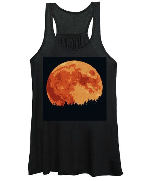Shadow Of The Moon  Women's Tank Top