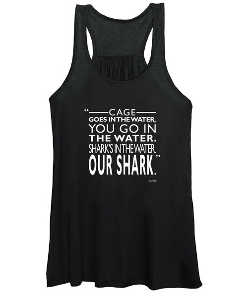 Sharks In The Water Women's Tank Top