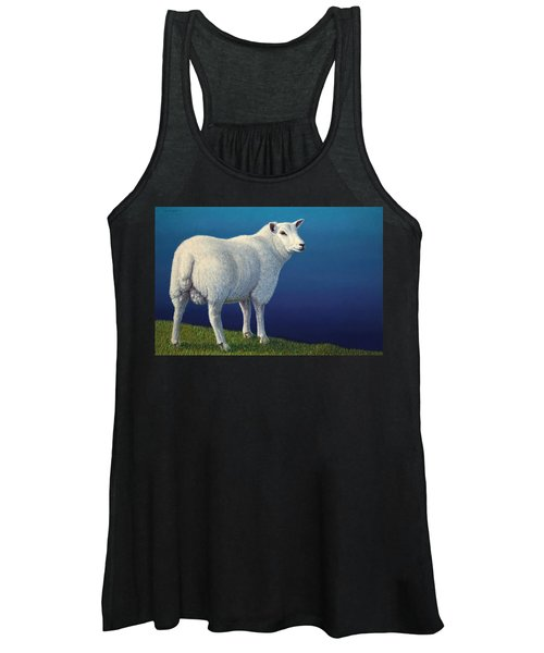 Sheep At The Edge Women's Tank Top