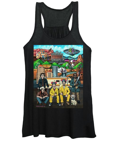 Shooting Stars In New Mexico Women's Tank Top