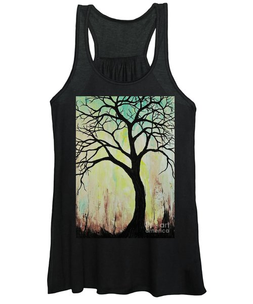 Silhouette Tree 2018 Women's Tank Top