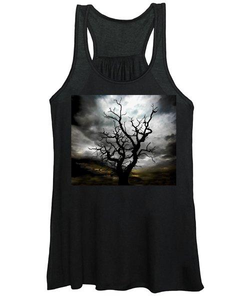 Skeletal Tree Women's Tank Top
