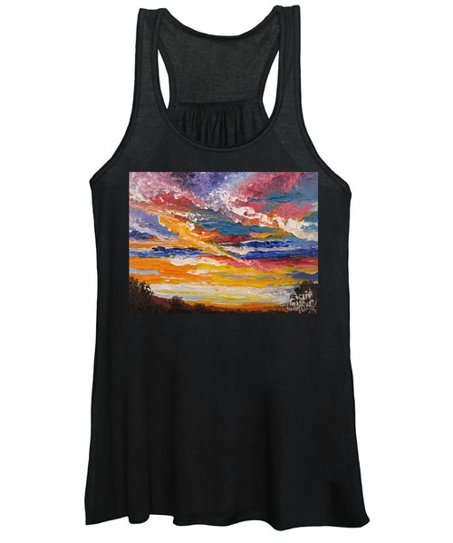 Sky In The Morning.             Sailor Take Warning  Women's Tank Top