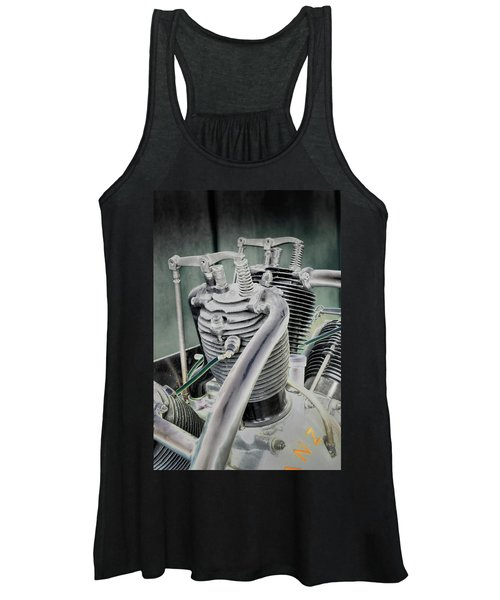 Small Radial Engine Women's Tank Top