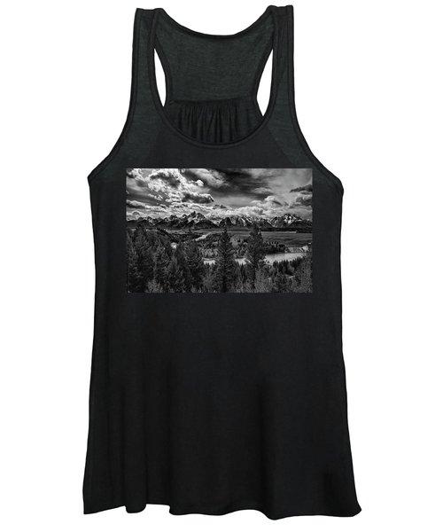 Snake River And Tetons Women's Tank Top