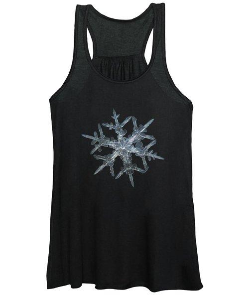 Snowflake Photo - Rigel Women's Tank Top