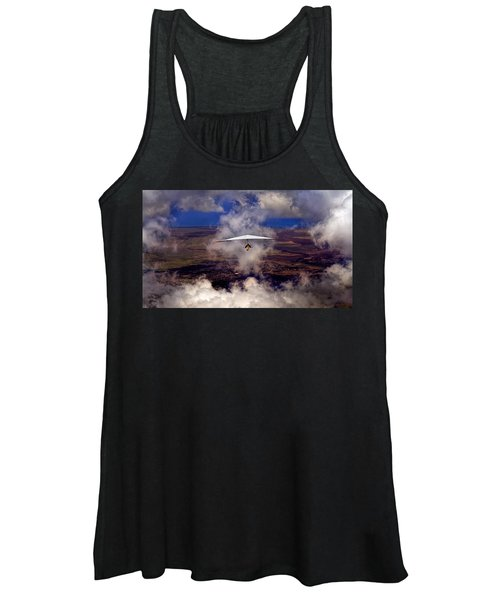 Soaring Through The Clouds Women's Tank Top