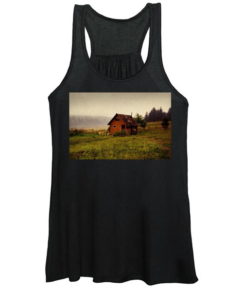 Somewhere In The Countryside. Russia Women's Tank Top