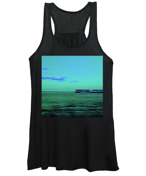 Sound Of A Train In The Distance Women's Tank Top