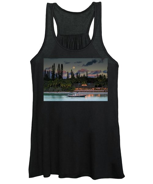 South Pacific Moonrise Women's Tank Top