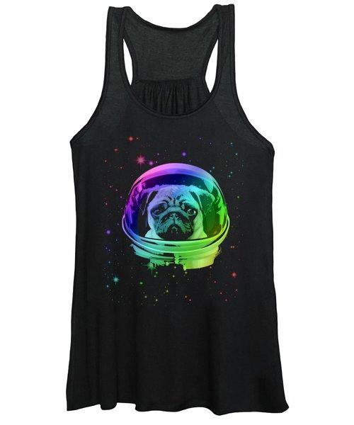 Space Pug Women's Tank Top