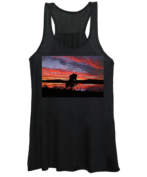 Spinning The Wheels Of Fortune Women's Tank Top