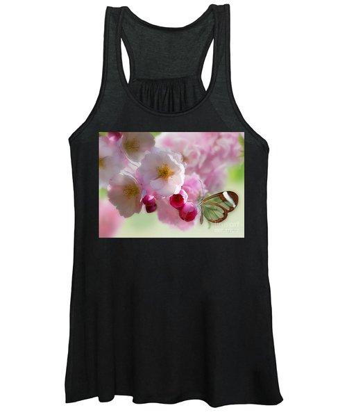 Spring Cherry Blossom Women's Tank Top