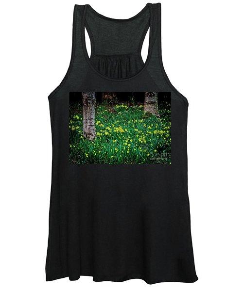 Spring Daffoldils Women's Tank Top