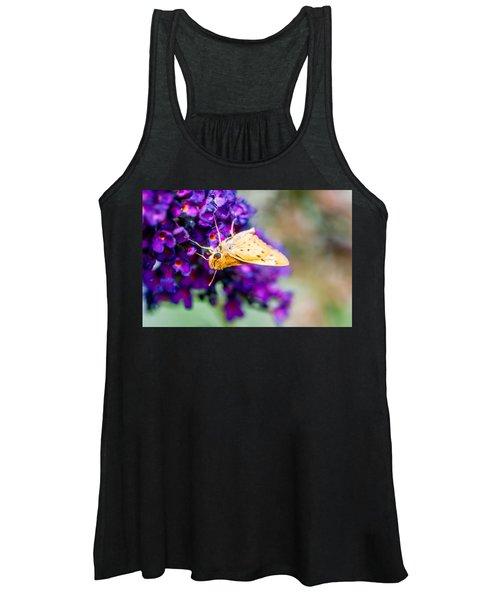 Spring Moth Women's Tank Top