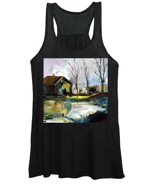 Springtime Barn Women's Tank Top
