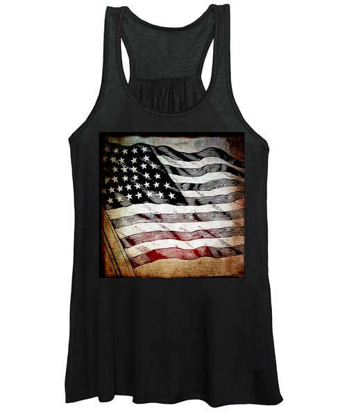 Star Spangled Banner Women's Tank Top