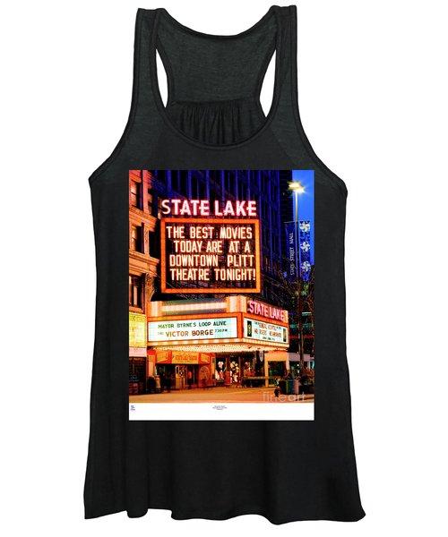 State-lake Theater Women's Tank Top